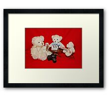 Strip Poker Framed Print