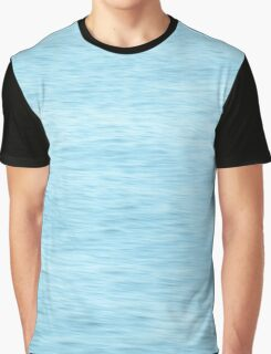 Colors of the Sea Water - Clear Blue Graphic T-Shirt
