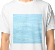 Colors of the Sea Water - Clear Blue Classic T-Shirt
