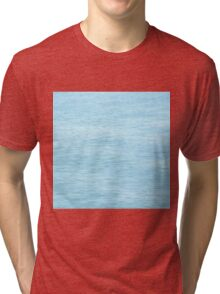 Colors of the Sea Water - Clear Blue Tri-blend T-Shirt