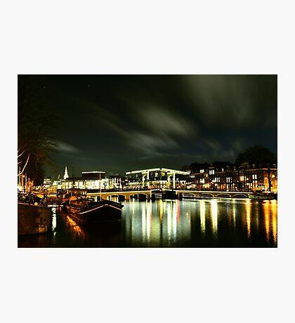 "Amsterdam bridge ""De magere brug""  Photographic Print"
