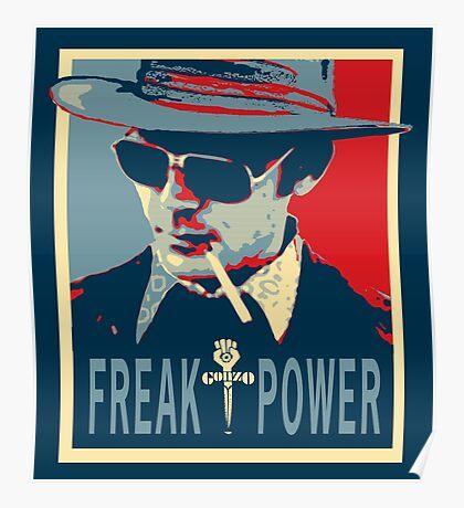 HST- Freak Power Poster