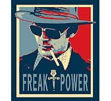 HST- Freak Power Photographic Print