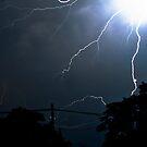 Lightning Strikes by jude walton