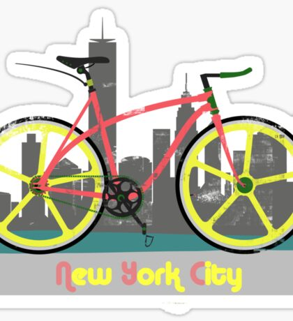 Love New York, Love to Cycle Sticker