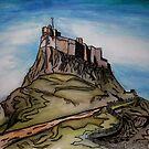 Lindisfarne Castle by SerendipityArt