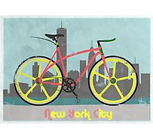 Love New York, Love to Cycle Photographic Print