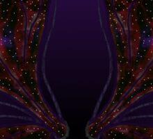 Galaxy Wings Sticker