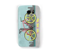 Love New York, Love to Cycle Samsung Galaxy Case/Skin