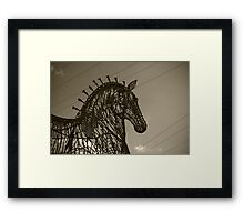 Of Wires and Steel Framed Print