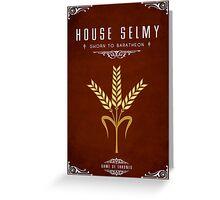 House Selmy Greeting Card