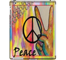 Peace in Every Color iPad Case/Skin