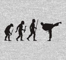 Evolution of Man and Karate by movieshirtguy