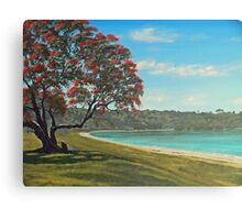 Pohutukawa - New Zealand Christmas Tree Canvas Print