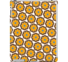 Retro colors floral pattern iPad Case/Skin