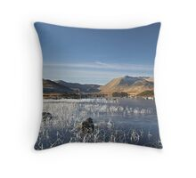 Scotland - Rannoch Moor Throw Pillow