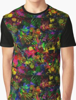 Spiky Psychedelic  Graphic T-Shirt