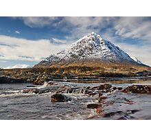 Scotland - Glencoe - Buchaille Etive Mhor Photographic Print