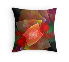 Christmas Wrapping Throw Pillow
