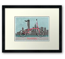 Brompton City Bike Framed Print