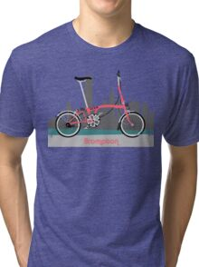Brompton City Bike Tri-blend T-Shirt