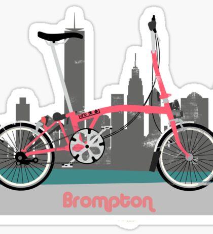 Brompton City Bike Sticker