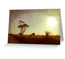 Rural Xmas Card Greeting Card