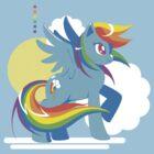 Rainbow Dash by Siobhan Brewer