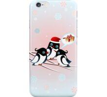 Winter Birds Christmas Wish - Cute Case iPhone Case/Skin