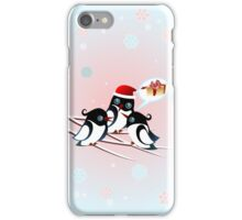 Winter Birds Christmas Wish - Cute Case iPhone Case/Skin