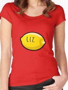 Liz Lemon the Lemon Women's Fitted Scoop T-Shirt