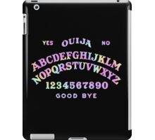 rainbow ouija iPad Case/Skin