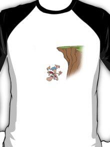 Parkour - Don't live on the edge, jump off it - Black T-Shirt
