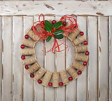 Cork Wreath by CathyS
