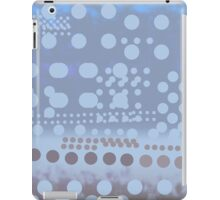 Blue dots dynamic pattern  iPad Case/Skin