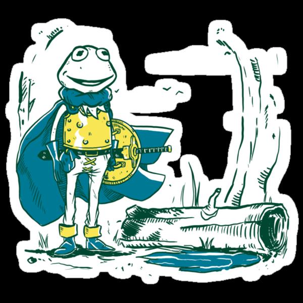 Kaeru the frog by TeeKetch