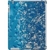 Cool blue iPad Case/Skin