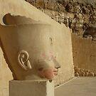 portrait of pharaoh Hatsjepsut by annet goetheer