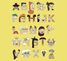 P&F Alphabet One Piece - Short Sleeve