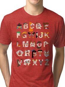 P&F Alphabet Tri-blend T-Shirt