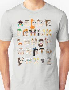 P&F Alphabet T-Shirt