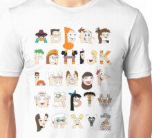 P&F Alphabet Unisex T-Shirt