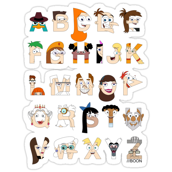 P&F Alphabet by Mike Boon
