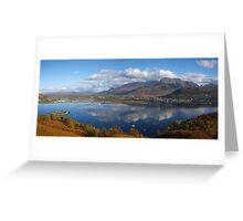 Ben Nevis in Autumn. Greeting Card