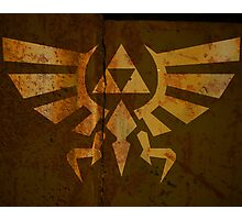 Zelda Wall Mural Poster Triforce War Torn Photographic Print