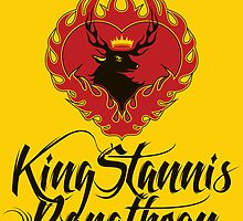 Stannis Baratheon Sigil Poster by P3RF3KT