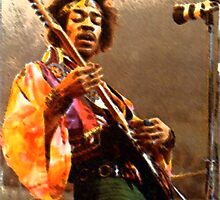 Jimi Hendrix by destieel
