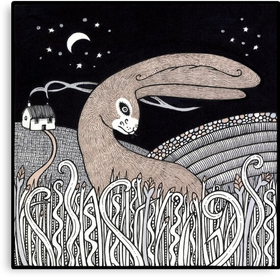 Curious Hare by Anita Inverarity