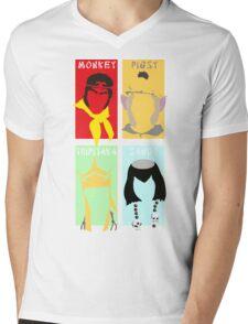 Monkey Magic 4 Mens V-Neck T-Shirt
