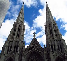 St. Patrick's Cathedral - New York City by Jamie Greene